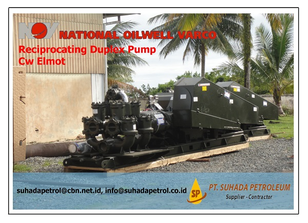 Reciprocating Duplex Pump cw Elmot